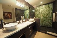 invigorating shower in Costa Rica Ocean View Junior Penthouse luxury apartment