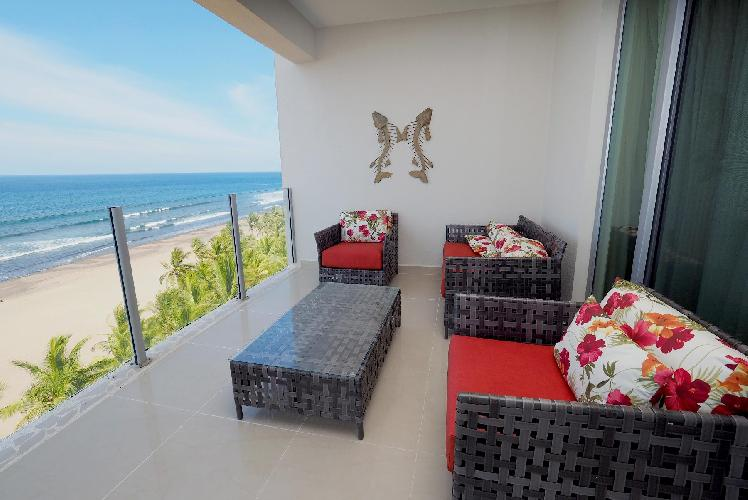 awesome sea view from the terrace of Costa Rica Ocean View Junior Penthouse luxury apartment
