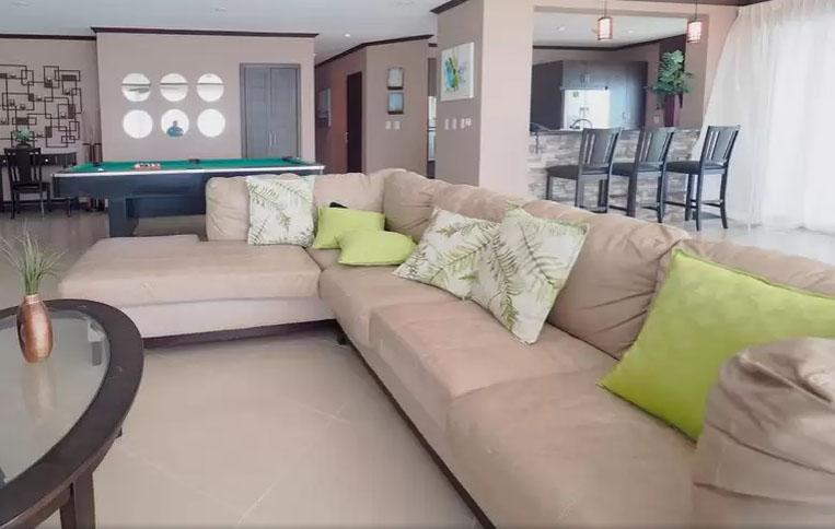 nice Costa Rica Ocean View Junior Penthouse luxury apartment and vacation rental