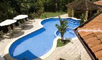 cool swimming pool of Costa Rica Casa de Suenos luxury apartment
