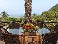 amazing balcony of Costa Rica Bahia Encantada E4 luxury apartment