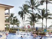invigorating pool of Costa Rica Bahia Encantada E4 luxury apartment