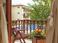 amazing balcony of Costa Rica Bahia Azul 9B luxury apartment and holiday home