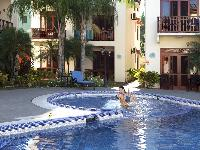 cool swimming pool of Costa Rica Bahia Azul 9B luxury apartment and holiday home