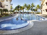 awesome pool of Costa Rica Bahia Azul 9B luxury apartment and holiday home