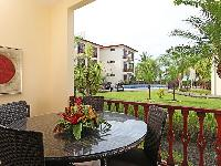 cool balcony of Costa Rica Bahia Azul 9A luxury apartment and holiday home