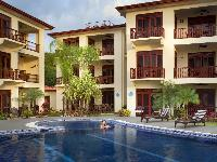 neat swimming pool of Costa Rica Bahia Azul 9A luxury apartment and holiday home