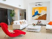 vibrant colors in Costa Rica Casa del Mar luxury apartment
