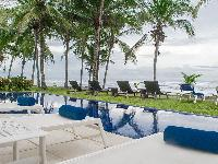 cool sea view from the poolside of Costa Rica Casa del Mar luxury apartment