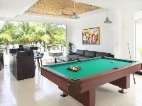 cool game room of Costa Rica Casa del Mar luxury apartment