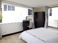 clean and fresh bedroom linens in Costa Rica Casa del Mar luxury apartment