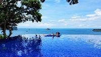 amazing infinity pool of Costa Rica Vista Hermosa luxury apartment