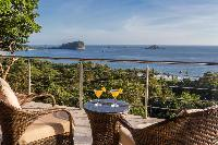 incredible ocean view from Costa Rica Vista Hermosa luxury apartment