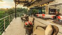 incredible view deck of Costa Rica Vista Hermosa luxury apartment