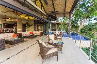 incredible lanai of Costa Rica Vista Hermosa luxury apartment