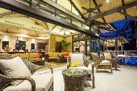 amazing veranda of Costa Rica Vista Hermosa luxury apartment