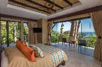 amazing bedroom with a view at Costa Rica Vista Hermosa luxury apartment