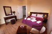 fresh bed sheets in Corfu Villa Rosa 1 luxury holiday home, vacation rental