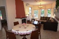 fully furnished Corfu Villa Rosa 1 luxury holiday home, vacation rental