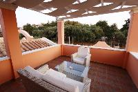 beautiful terrace of Corfu Villa Rosa 1 luxury holiday home, vacation rental