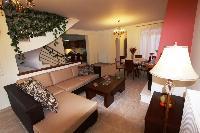 cozy sitting area in Corfu Villa Rosa 1 luxury holiday home, vacation rental
