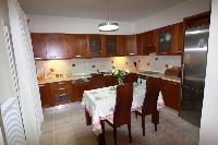 cool kitchen of Corfu Villa Rosa 1 luxury holiday home, vacation rental