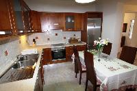 modern kitchen appliances in Corfu Villa Rosa 1 luxury holiday home, vacation rental