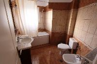 clean bathroom in Corfu Villa Rosa 1 luxury holiday home, vacation rental