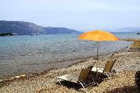 awesome seaside Corfu Villa Rosa 1 luxury holiday home, vacation rental