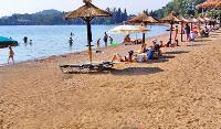 amazing seaside Corfu Villa Rosa 1 luxury holiday home, vacation rental