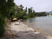 fun seaside Corfu Villa Rosa 1 luxury holiday home, vacation rental