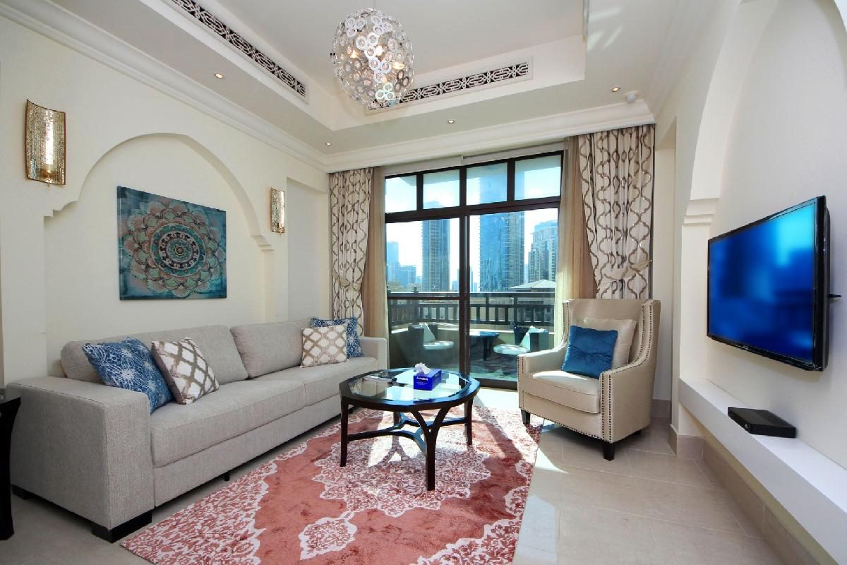 Dubai Luxury 1 Bedroom - Souk Al Bahar