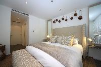 fresh and clean bedroom linens in Dubai D1 Residences 2BR luxury apartment