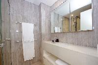 clean and fresh bathroom in Dubai D1 Residences 2BR luxury apartment