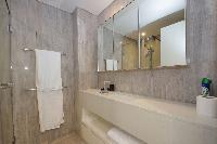 fresh and clean bathroom in Dubai D1 Residences 2BR luxury apartment