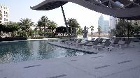 awesome swimming pool of Dubai D1 Residences 2BR luxury apartment