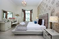 clean and fresh bedroom linens in Dubai D1 Residences 2BR luxury apartment