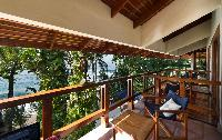 beautiful sea view from the terrace of Costa Rica Casa Oceano luxury apartment