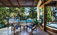 beautiful veranda of Costa Rica Casa Oceano luxury apartment