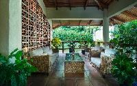 beautiful lanai of Costa Rica Casa Oceano luxury apartment