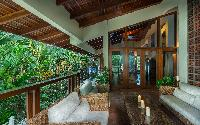 beautiful patio of Costa Rica Casa Oceano luxury apartment