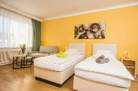 pristine bed sheets and pillows in Vienna - Apartment F21/18 luxury vacation rental and holiday home