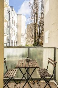 cool view from the balcony of Vienna - Apartment F21/7 lusury vacation rental and holiday home