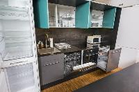 cool modern kitchen of Vienna - Apartment 9 lusury vacation rental and holiday home