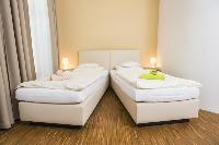 crisp and clean bedroom linens in Vienna - Apartment 9 lusury vacation rental and holiday home