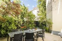 amazing garden terrace of Vienna - Apartment 9 lusury vacation rental and holiday home