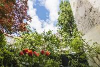 lush and lovely garden of Vienna - Apartment 9 lusury vacation rental and holiday home