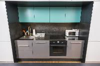 modern kitchen appliances in Vienna - Apartment 9 lusury vacation rental and holiday home