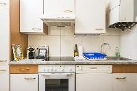cool modern kitchen of Vienna - Apartment 8 luxury vacation rental and holiday home