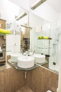 clean and fresh bathroom in Vienna - Apartment 8 luxury vacation rental and holiday home